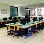 Panoramica aula informatica