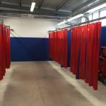 Panoramica nuovo laboratorio saldatura