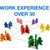 work experience over30